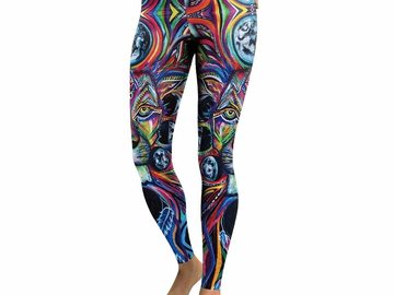 New: Painted Lion Leggings
