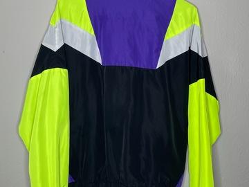 Used: Neon/purple Jacket