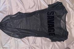 New: Savage mesh bodysuit