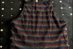 Used: Rainbow Crop Top