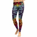 New: Colorful Doodle Leggings