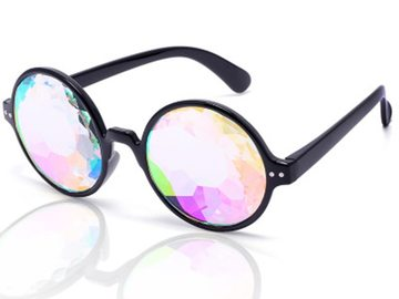 New: Round Kaleidoscope Glasses