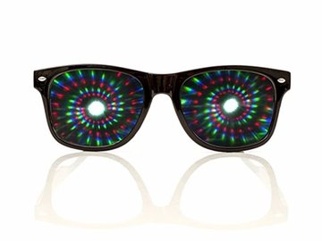 New: Spiral Diffraction Glasses - 2 pack
