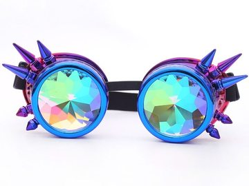 New: Steampunk Kaleidoscope Goggles