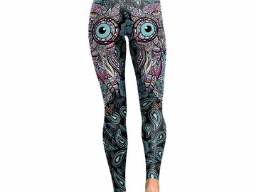 New: Geometric Owl Leggings