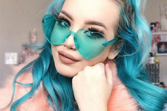 New: Color Heart Glasses