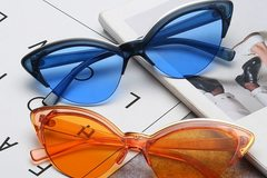 New: Color Cateye Glasses