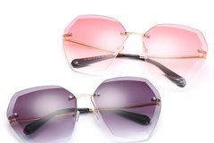 New: Color Hex Frameless Glasses