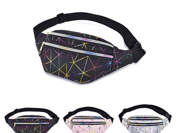 New: Holographic Lazer Fanny Pack