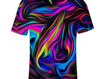 New: Swirl Painting T-Shirt
