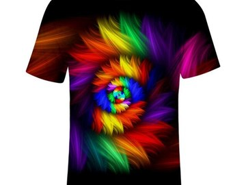 New: Rainbow Hypnosis T-Shirt