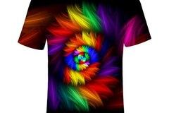 New: Rainbow Hypnosis T-Shirt