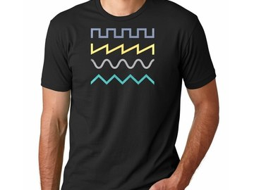 New: Super Synth Waves T-Shirt