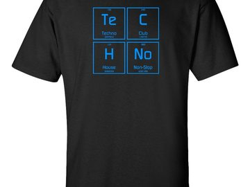 New: Elemental Techno T-Shirt