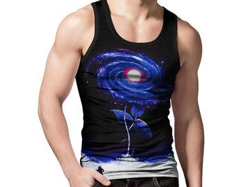 New: My Flower Galaxy Tank Top