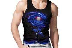 New: My Flower Galaxy Tank Top
