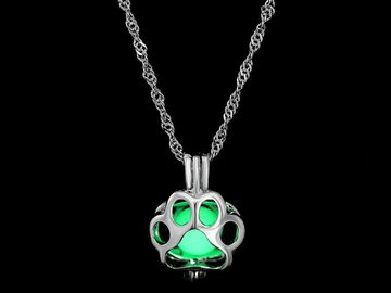 New: Glowing Bear Paw Necklace