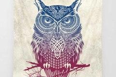 New: Owl Tapestry