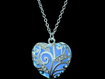 New: Glowing Heart Necklace