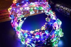 New: Glowing Wreath Headband