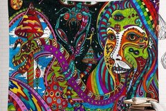 New: Psychedelic Wonderland Tapestry