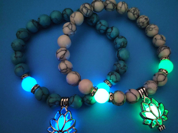 New: Glowing Lotus Bracelet