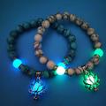 New: Glowing Lotus Bracelet
