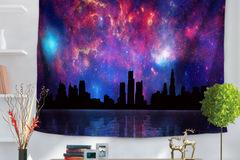 New: Lightshow Over Skyline Tapestry