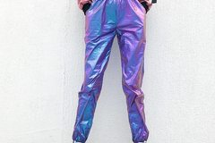 New: Holographic Dancer Pants