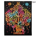 New: Colorful Elephant Tapestry