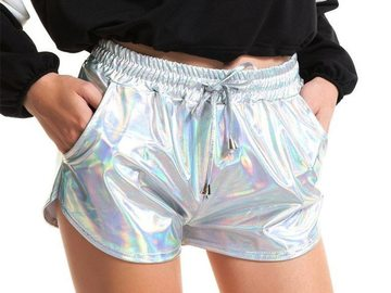 New: Holographic Booty Shorts
