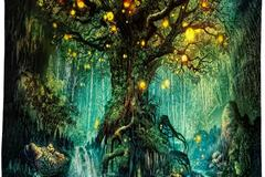 New: Wishing Trees Tapestry