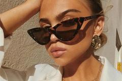 New: Triangular Cateye Sunglasses