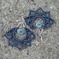 Handmade: Fibonacci Lotus Flower Earrings