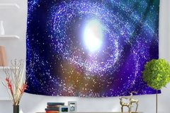 New: Spiral Galaxy Tapestry