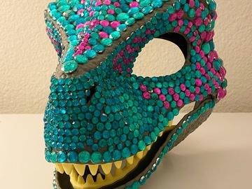 Handmade: Raptor Masks