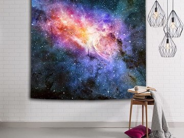 New: Starry Galaxy Tapestry