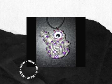 Handmade: Octopus Crystal Pendant