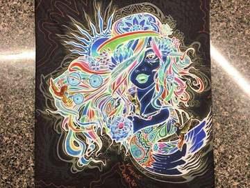 New: Vomit Art Festi Goddess Face Mask