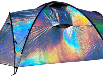 New: Siesta 4 Disco Tent With Fans