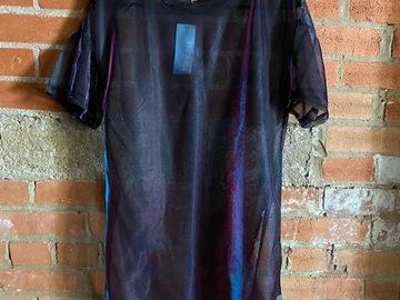 New: Iridescent T-shirt Dress