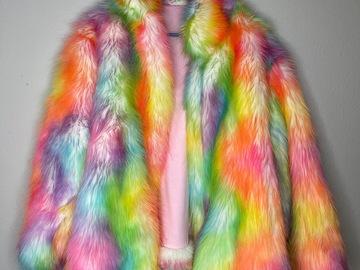 Used: Colorful Fur Coat