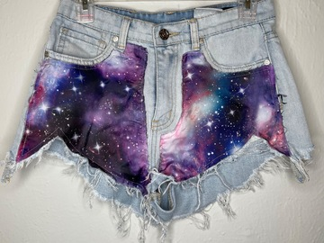 Used: Galaxy Jean shorts