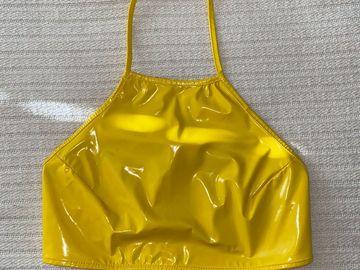 Used: Dolls Kill Yellow Halter Top